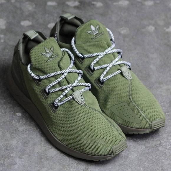 440f849e4 Adidas ZX Flux Adv X Size 10.5 (Green)
